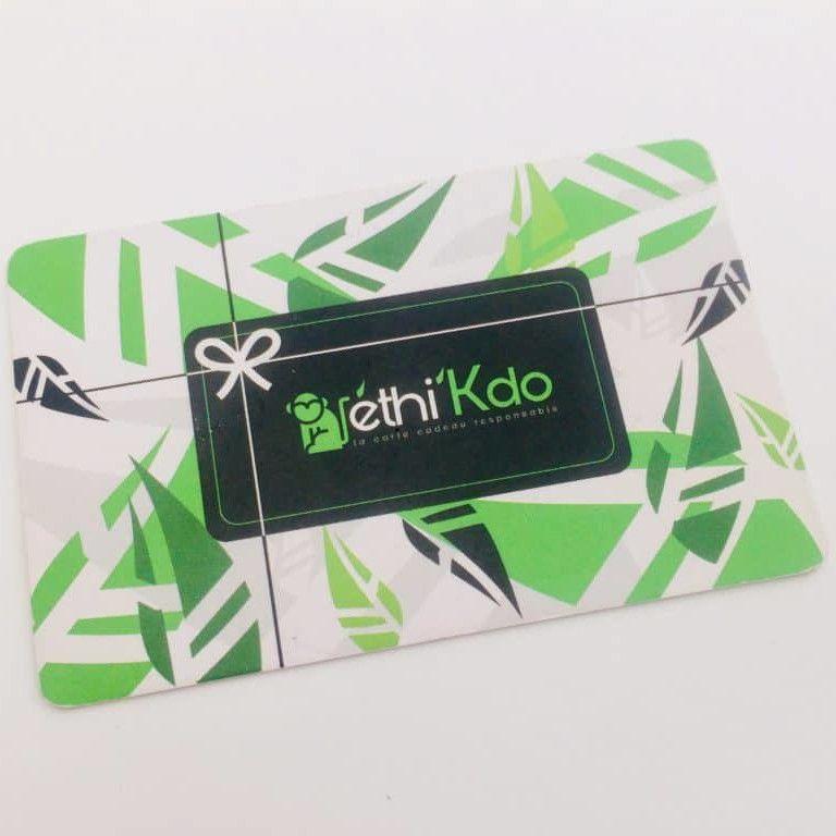 Plus qu'une journée pour financer Ethi'Kdo, la carte cadeau éthique !