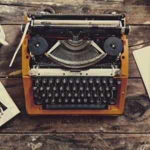 machine écrire ancienne