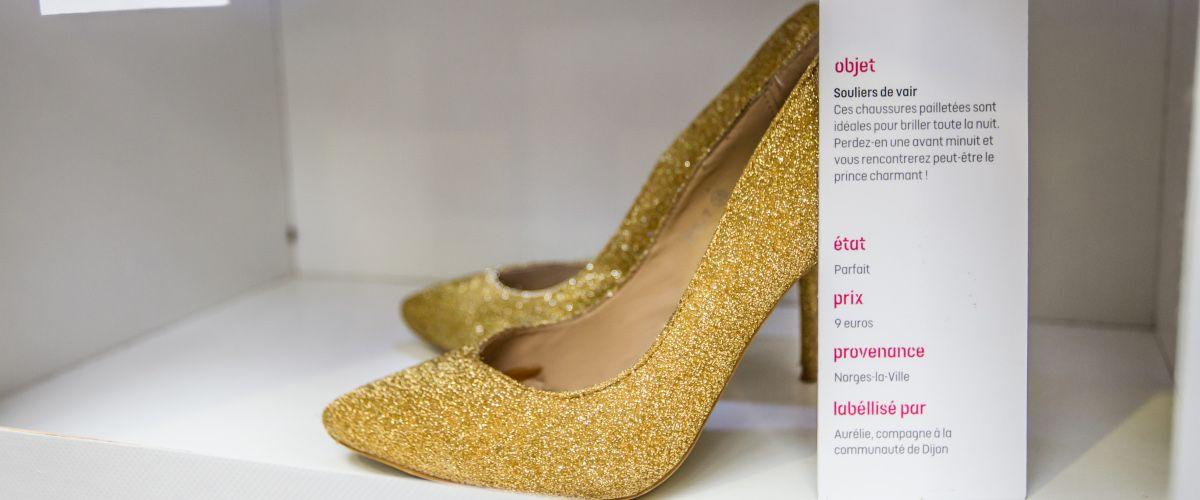 Histoires d'objets : la chaussure avec Label Emmaüs
