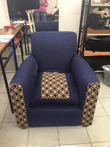 upcycling fauteuil