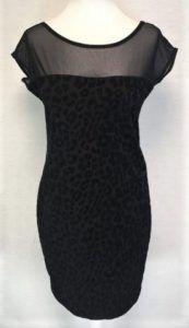 robe velours noir occasion