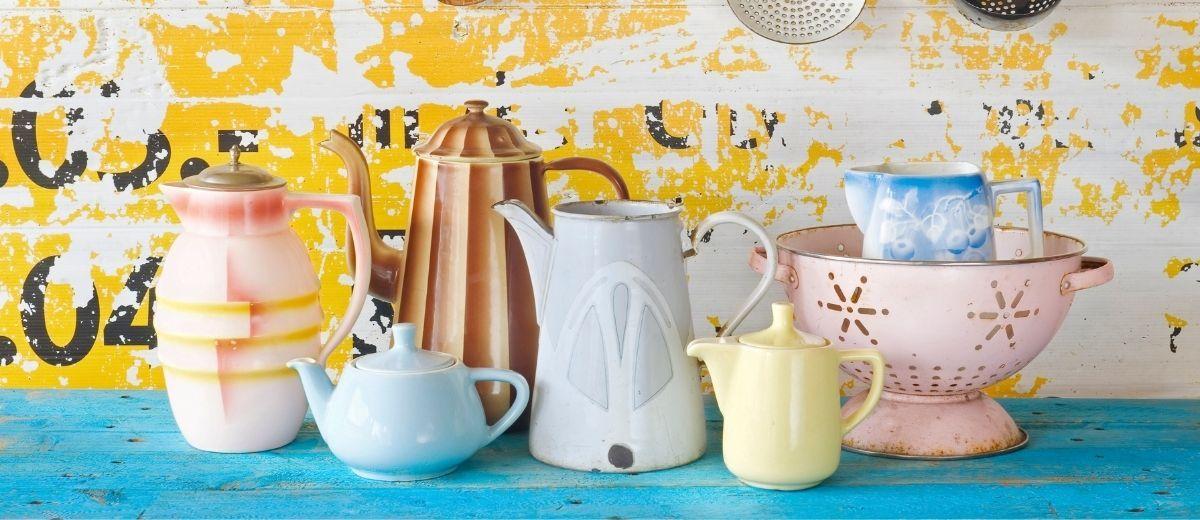 Tendance décoration : Vaisselle et Art de la table vintage