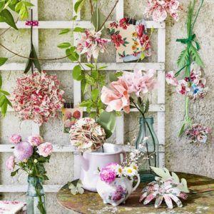 fleur tissu DIY