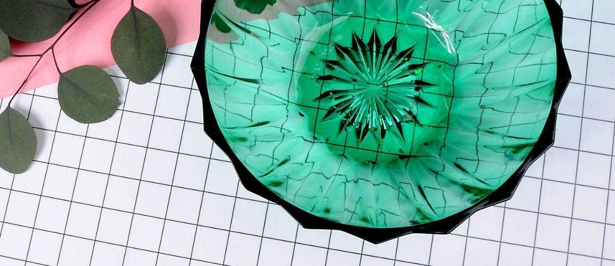 Collection capsule de vaisselle vintage Label Emmaüs x Renée Recycle