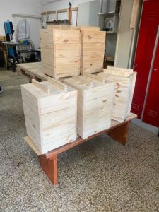 menuiserie bois recyclé