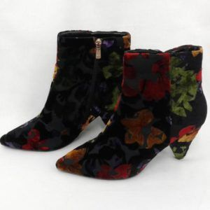 chaussures femme velours