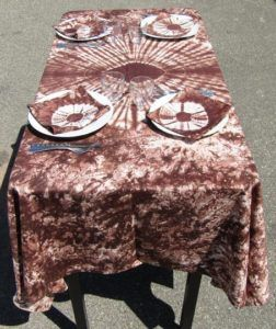 Loong nééré nappe motif africain burkina faso commerce équitable
