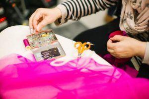 handicraft création artisanat emmaus insertion manuel solidaire couture rose