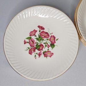 assiettes céramique de gien