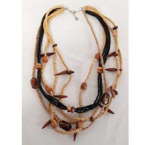 colliers multi rangs solidaire vintage must have coquillages été plage hippie