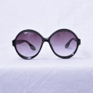 lunettes de soleil vintage emmaus seconde main rondes élégant chic