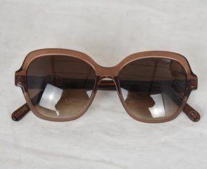 lunettes de soleil vintage emmaus seconde main femme élégant chic luxe chic