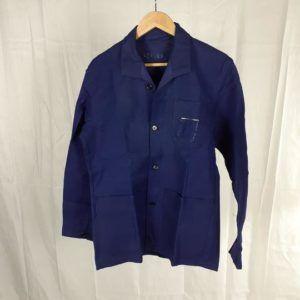 bleu de travail vintage fripe