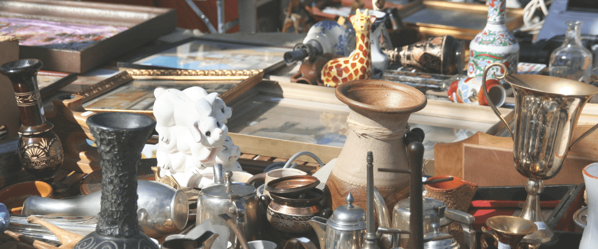 Créations upcycling et objets à chiner