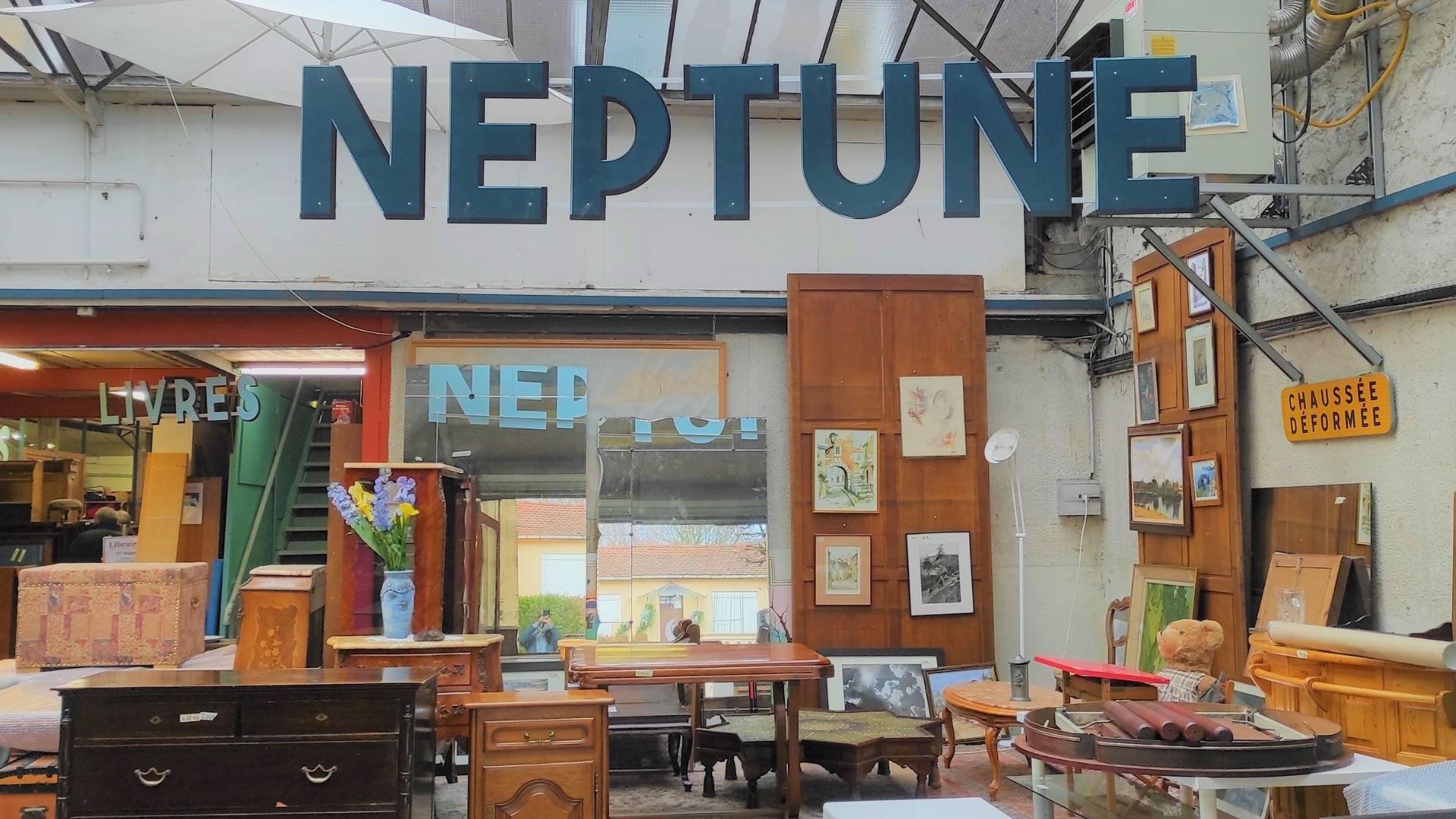 La brocante solidaire Neptune rejoint le navire Label Emmaüs !
